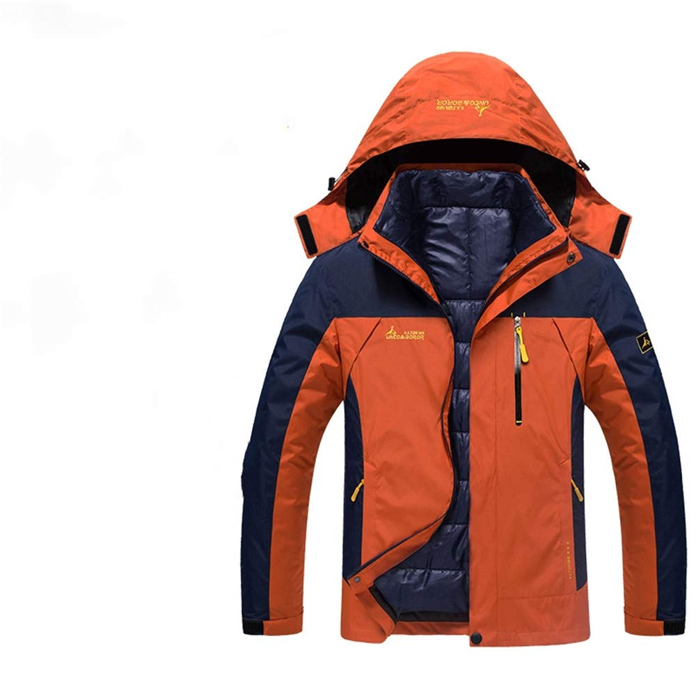 AiNaMei Outdoorjacke für Herren, die das Skibergsteigen verdickt
