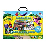 Crayola Inspiration Art Case; 140 Art Supplies, Crayons, Gift for Boys and Girls, Kids, Adults, Ages 3,4, 5, 6, and Up, Arts and Crafts, Colored Pencils, Washable Markers, Paper, Portable Case, Back to school, School supplies, Gifting