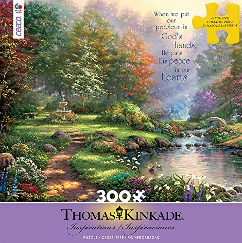 Ceaco Thomas Kinkade Inspirations Reflections of Faith Puzzle (300 Piece)