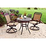 Better Homes and Gardens Paxton Place 3-piece Outdoor Bistro Set, Seats 2 Review