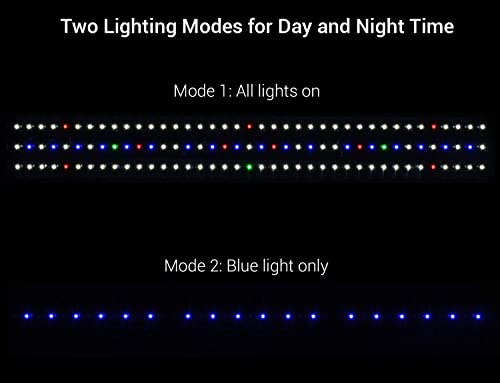 Two lighting modes