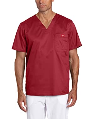 Men's Gen Flex Solid Stitch V-Neck