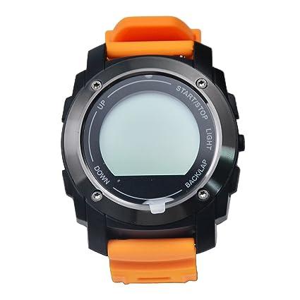 Naranja mejores vendedores Smart watches £ ¬ personalizada Diseño Digital reloj con reloj de parada para
