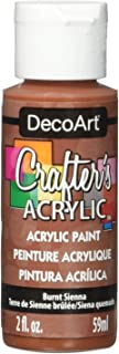 product image for DecoArt Crafter's Acrylic Paint, 2-Ounce, Burnt Sienna