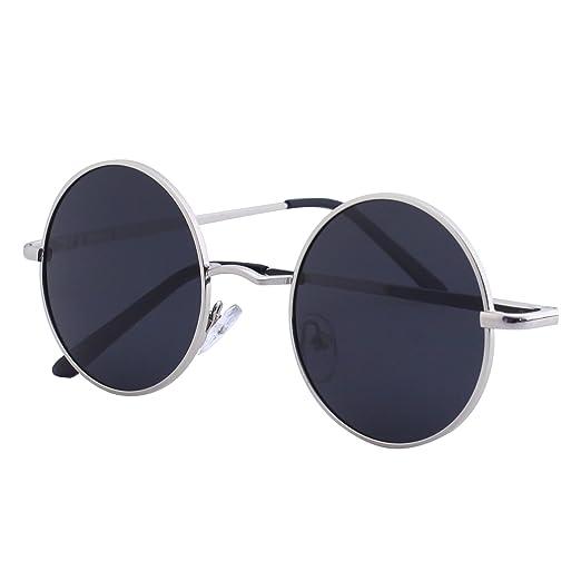 115 opinioni per CGID E01 Occhiali da Sole Uomo e Donna Retro Vintage Stile Lennon Rotondi