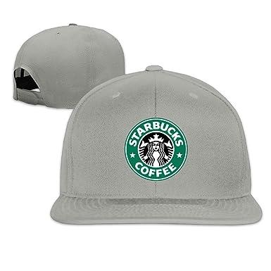 Unisex Black Starbucks Coffee Adjustable Snapback Trucker Hat Ash One Size 9b77ff5ae669