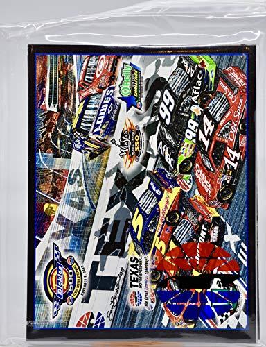 (2009 - NASCAR/Texas Motor Speedway - Dickies 500 - Official Raceday Program - Sam Bass Cover Art - Rare - Collectible)
