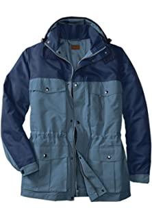50dd0679279 Haggar Men s Big   Tall Brighton Military Four-Pocket Jacket at ...