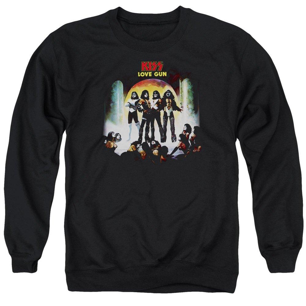 Kiss - - Männer Liebhaber Gun Cover Sweater