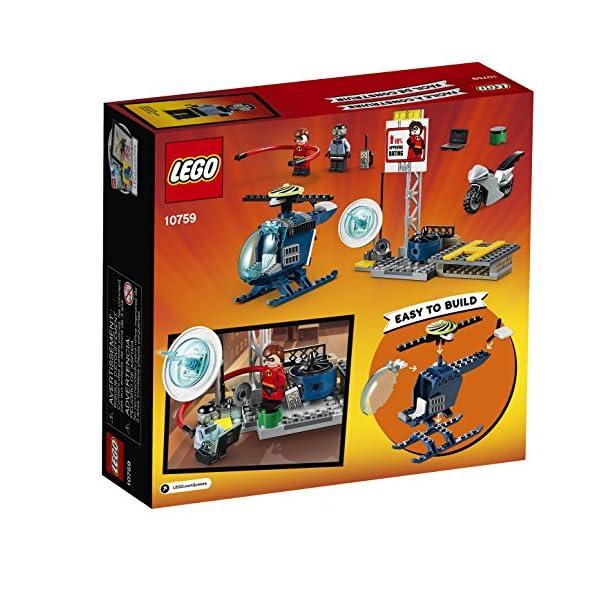 61BQYeoOAXL LEGO Juniors/4+ The Incredibles 2 Elastigirl's Rooftop Pursuit 10759 Building Kit (95 Piece)