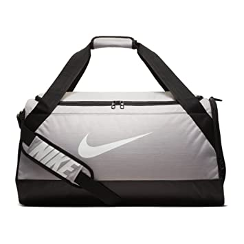 9db33494fbe Nike Brasilia (Medium) Training Duffel Bag (Medium, Atmosphere Grey Black