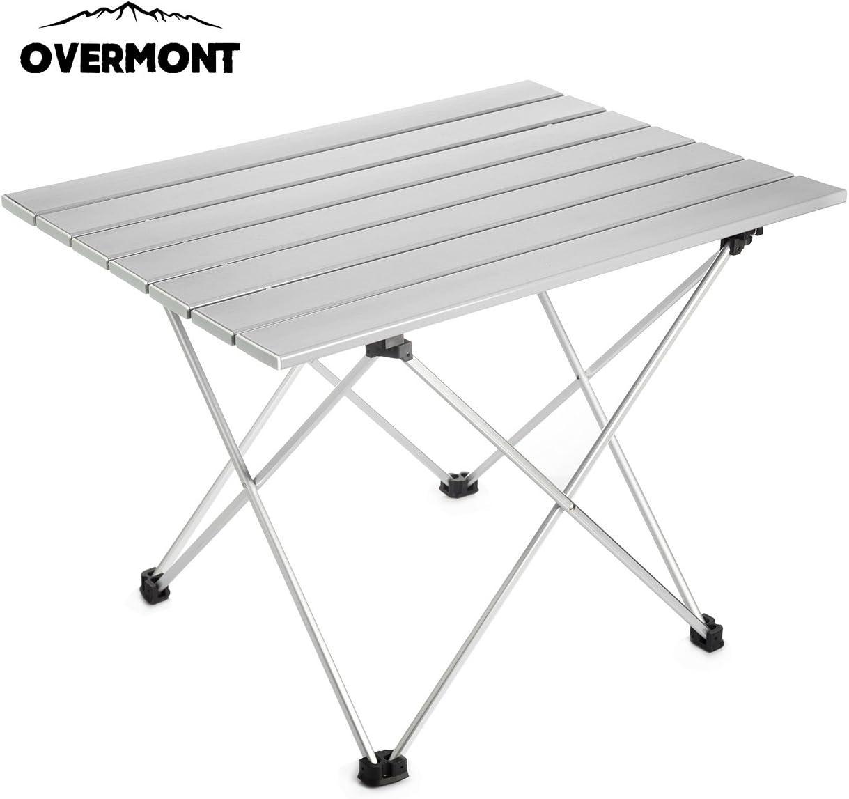 overmont aluminium portable folding