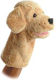 Aurora World Garth Dog Plush Hand Puppet, 10