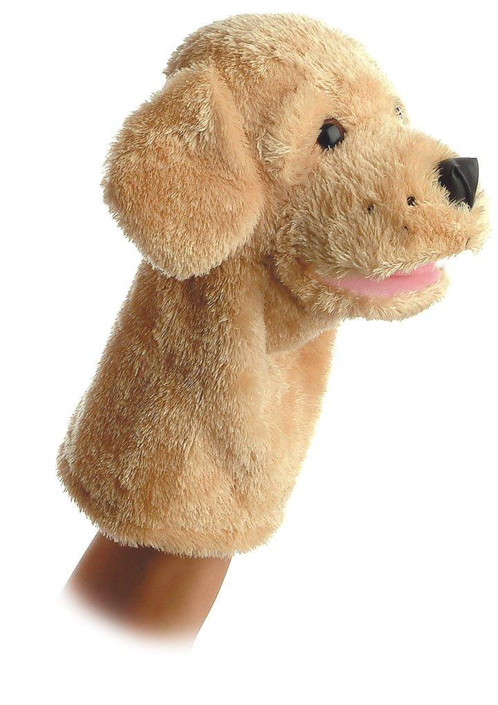 Aurora World Garth Dog Plush Hand Puppet, 10''