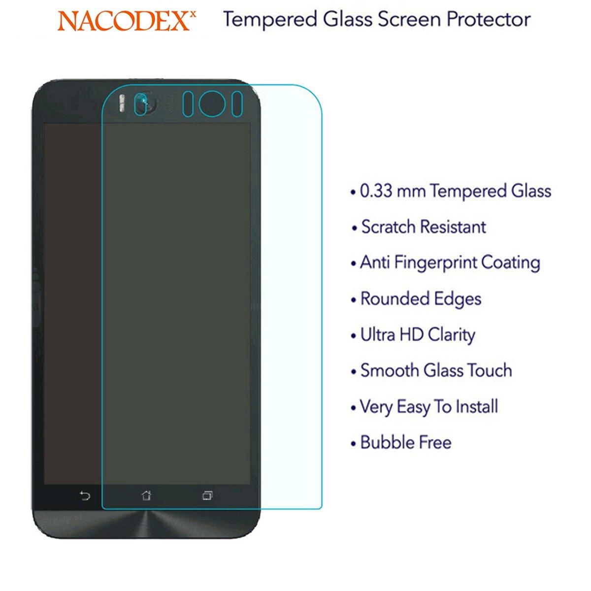 For Asus Zenfone Selfie Zd551kl Tempered Glass Screen New Zenfone4s Zc451cg Protector Nacodex Hd Film Guard Shield 03mm 25d