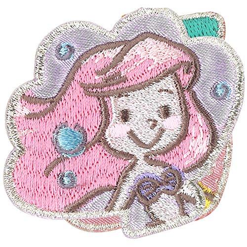 ミノダ ディズニープリンセス コミックワッペン アリエル シェル D01Y9174の商品画像