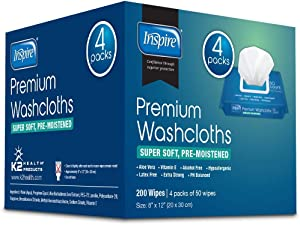 Adult Wet Wipes | Adult Wash Cloths Extra Large, Adult Wipes for Incontinence & Cleansing, 8