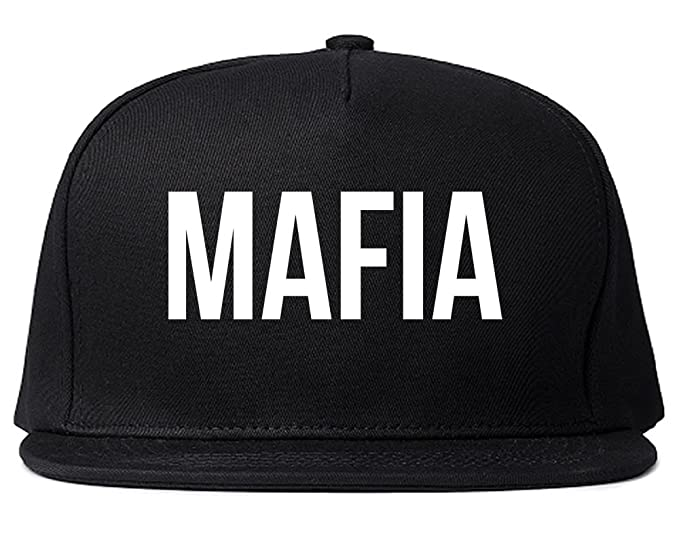 73666d8e4c2 Kings Of NY Mafia Junior Italian Mob Cool Trap ill Snapback Hat Black at  Amazon Men s Clothing store