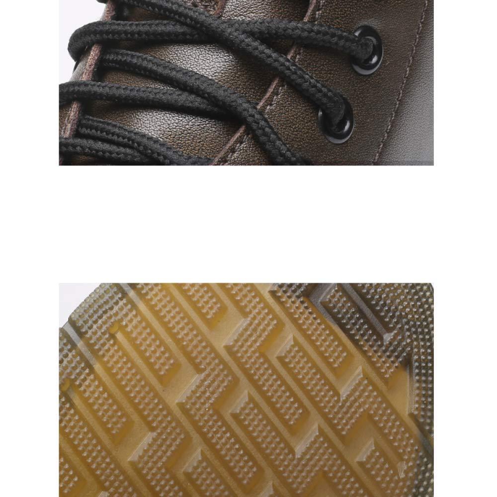 NIUMT Vintage Martin Stiefel Rutschfeste Herrenschuhe Hohe Stiefel Herren Herren Herren Stiefel Schnürstiefel Outdoor-Komfort B07KQ5PK8V  31d866