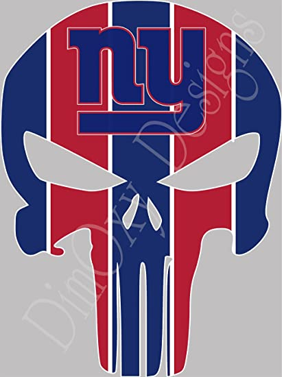 Amazon Ny Giants Punisher Sport Fan Sticker Full Color Decals