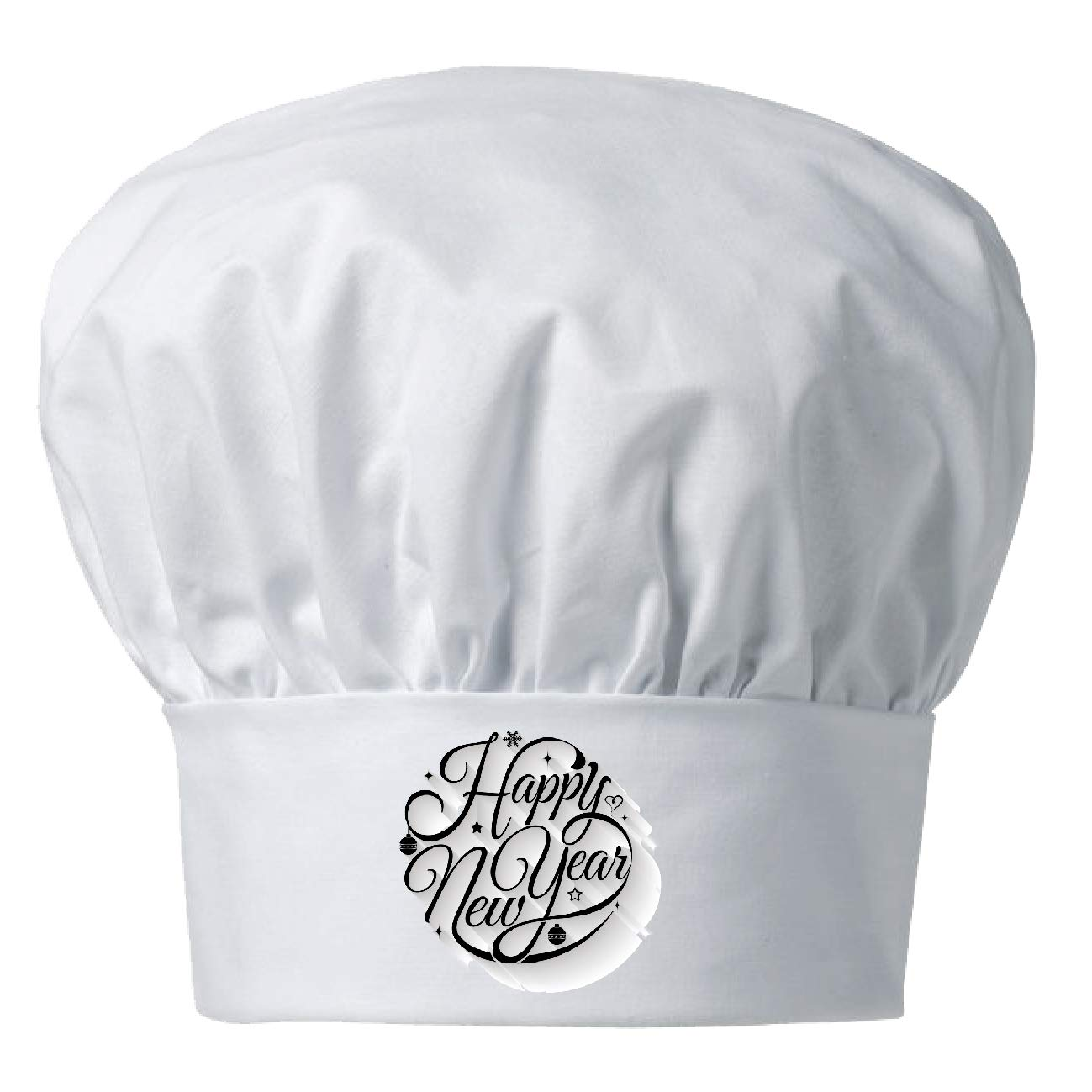 My Custom Style Cappello Chef Bianco Cotone#Natale - Christmas Time#