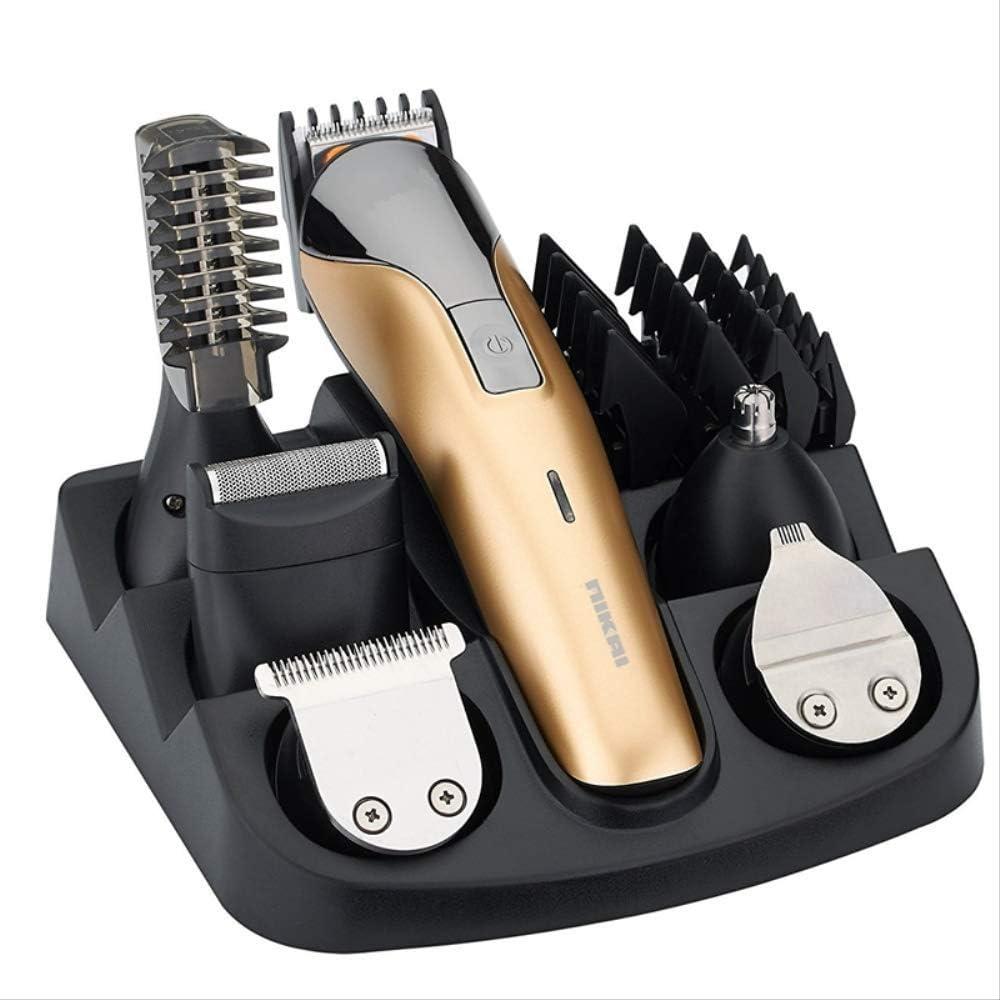 11in1 kit de aseo recortador de pelo cortador de pelo eléctrico para hombres barba trimer de coche máquina de afeitar ceja trim cara cuerpo peluquero