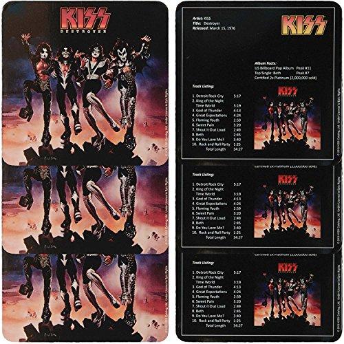 KISS - Destroyer 6 Pc. Coaster Set 8 x (Kiss Coasters)