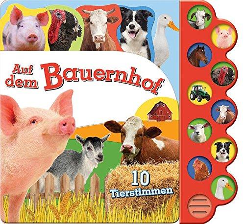 Soundbuch Auf dem Bauernhof: 10 Tierstimmen