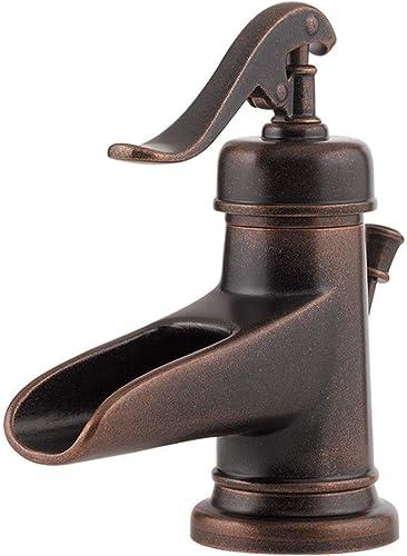 Pfister GT42YP0U Ashfield Single Control 4 Centerset Bathroom Faucet in Rustic Bronze