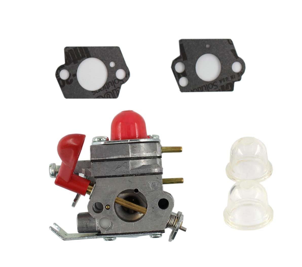 MOTOKU Carburetor for Craftsman Poulan Weedeater Husqvarna PP025 PP125  PP25E PP325 P4500 P4500F Trimmer PP258TP PP133 PP125 Carb