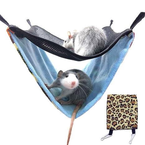 Hamacas para Mascotas Cama para Colgar, Hamaca Nest Hamster Hamaca ...