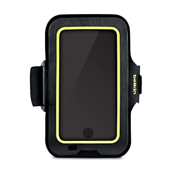 huge selection of 61bb0 ea824 Belkin F8W842btC00 Sport-Fit Fitness Armband for iPhone 8 Plus/7 Plus/6S  Plus/6 Plus (Full Phone Access, Case Compatible, Adjustable Fit), Black