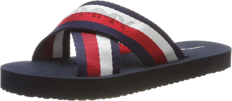 Tommy Hilfiger Colorful Womens Slide Sandals