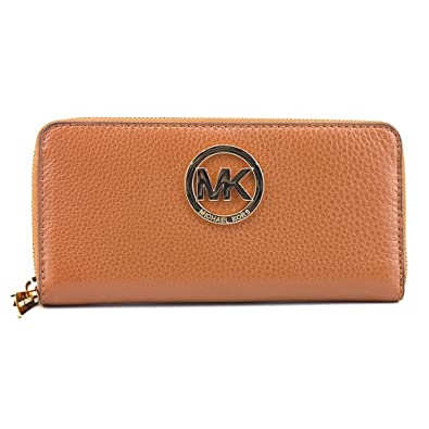 Michael Kors Fulton Zip Around Continental Wallet - Luggage
