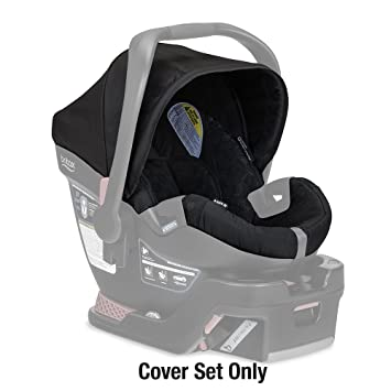 Amazon.com : Britax B-safe 35 Infant Car Seat Cover Set, Black : Baby