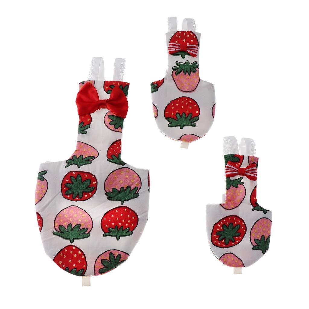 Rosa Fresa M B Blesiya Pa/ñales para P/ájaros Laro Reutilizable Complimentos Mascota Color Brillante Ecol/ógico Duradero