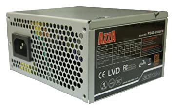 AZZA SFX/Micro-ATX 250 W 80 + Netzteil: Amazon.de: Computer & Zubehör