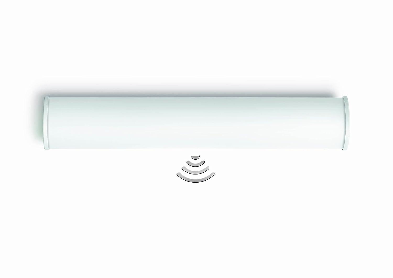 Ideale per Bagno e Wc Durata del Periodo di Accensione e Soglia Steinel 740115 Lampada per Interni con Sensore Ad Alta Frequenza Incorporato Brs 60 L Angolo di Rilevamento di 360/° Regolazione Elettronica in Continuo del Raggio DAzione da 0,5 a 5 m