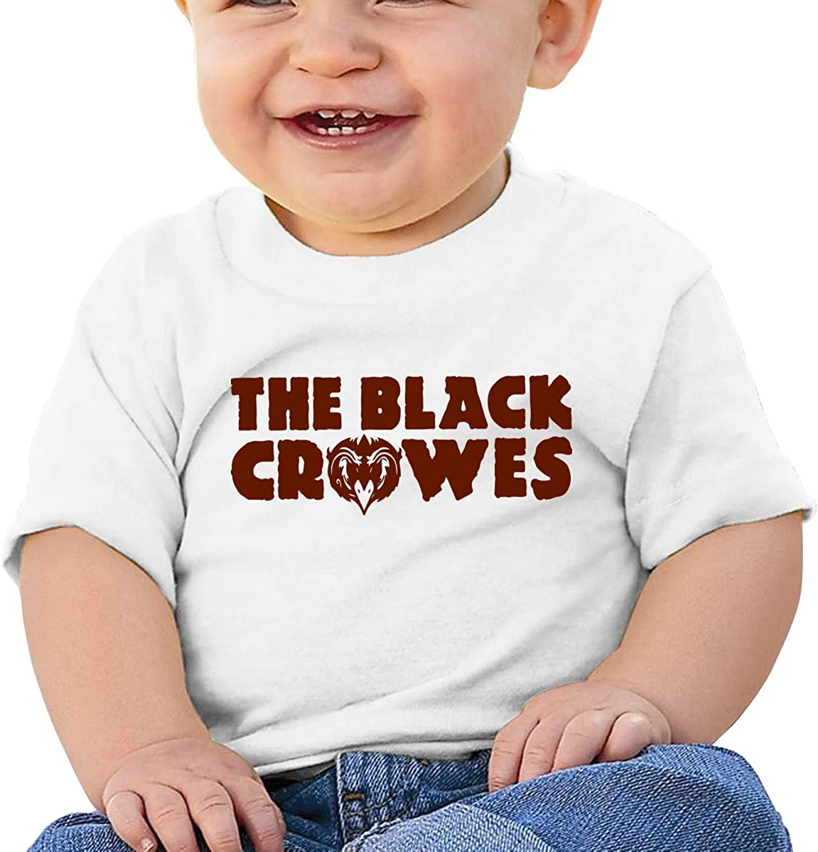 ANDREWPEO Baby The Black Crowes Shirts Toddler Fashion Short Tee