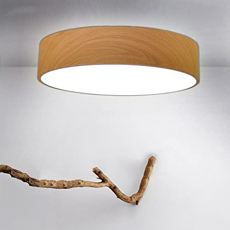 Lxsehn Postmoderne Le Fer Simple Circulaire Led Plafonnier