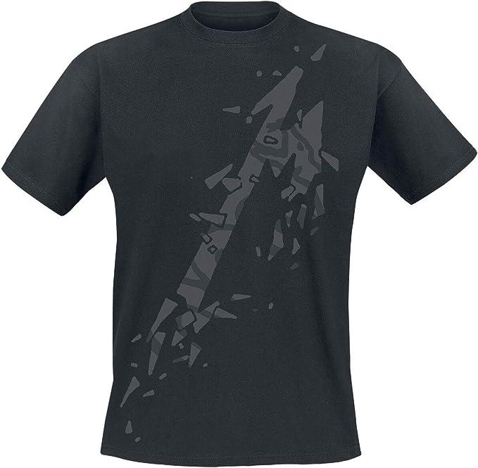 Metallica M - Black Album Hombre Camiseta Negro, [Effekte ...