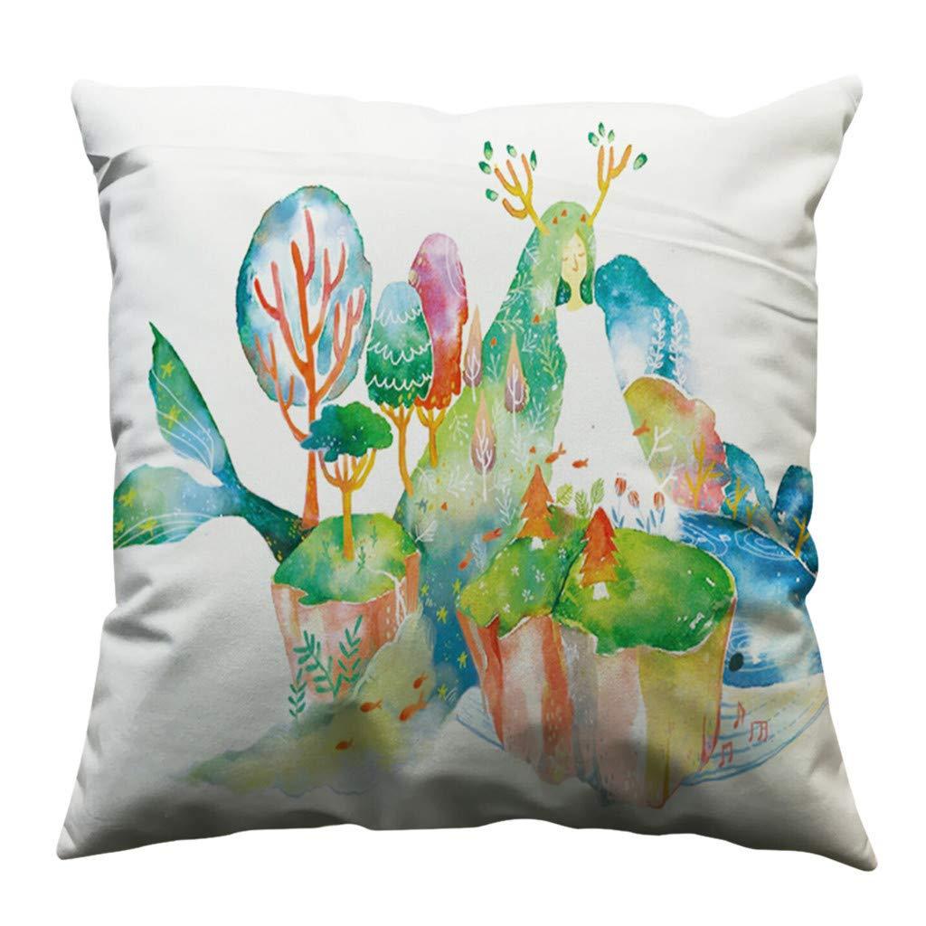 Amazon.com: Lywey 2019 Fashion Minimalist Pillow Case Cotton Soft Sofa Throw Cushion Cover Home Decor: Beauty