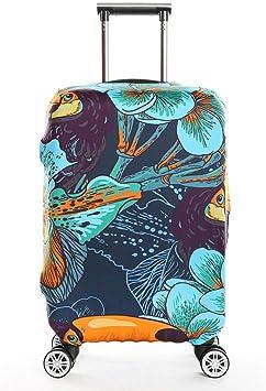 Protection De Valise Housse Bagage Voyager Protecteur Couverture XJYA Elastique Housse De Valise Luggage Cover pour 18-32 Pouce Valise