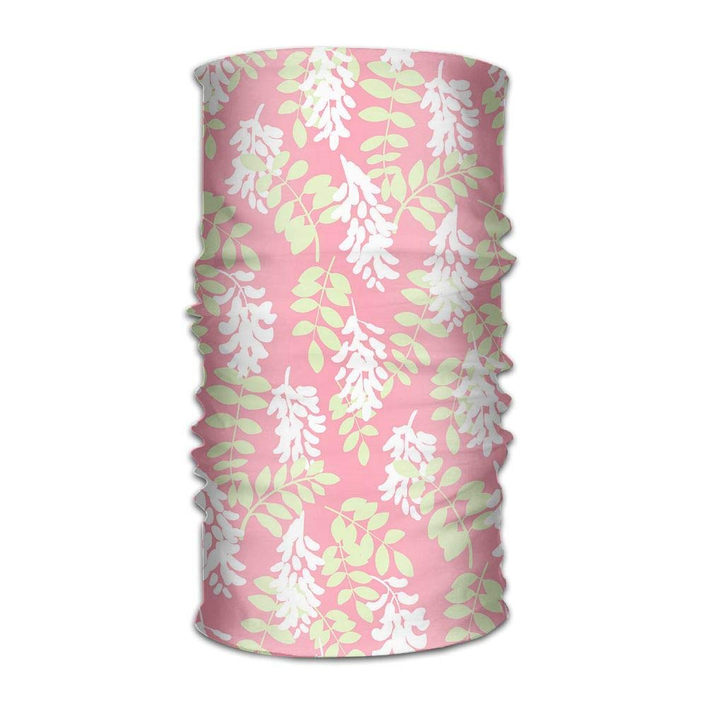 Multifunctional Headwear Flowers Print Head Wrap Sports /& Casual Headband Bandana for Women and Men