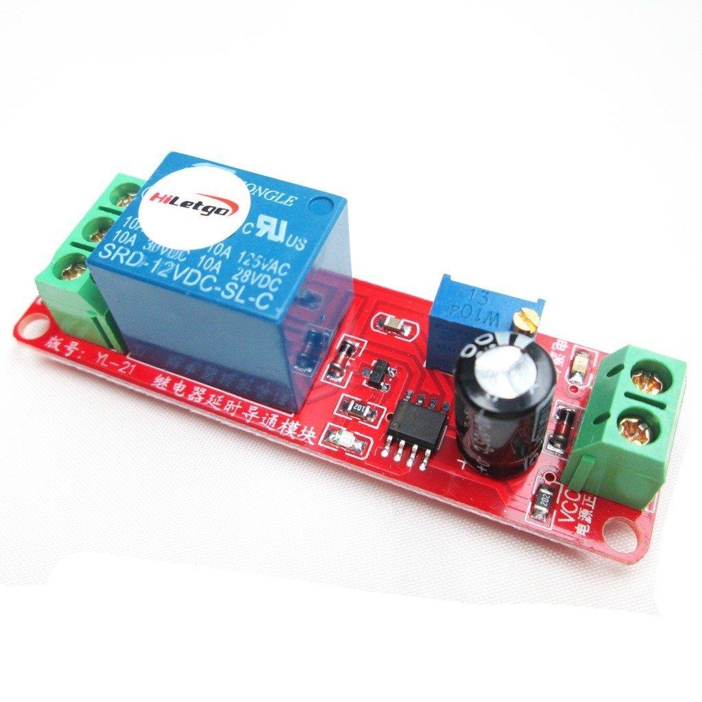 Hiletgo® 3pcs 12V Delay Switch Module de relais Retard Switch pour Smart Car robot
