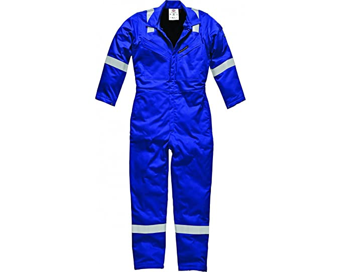 eabab3986dcb New Dickies Flame Retardant Firechief High Visibility Pyrovatex Lined  Padded Coverall Overall Boilersuit FR5030 Royal Blue
