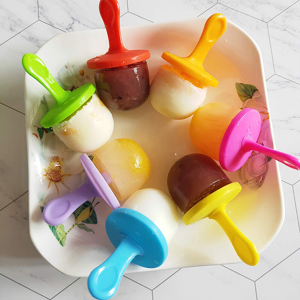 Billion Seed Silicone Egg Bites Molds for Baby Food Freezer Trays,Instant Pot Accessories with Popsicle Molds by Billon seed (Image #4)