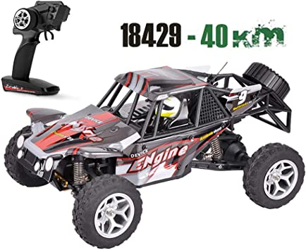 1//12 40km//h 2.4G Remote Control Off Road Cross Country RC Car Vehicle Kids Toy❤g