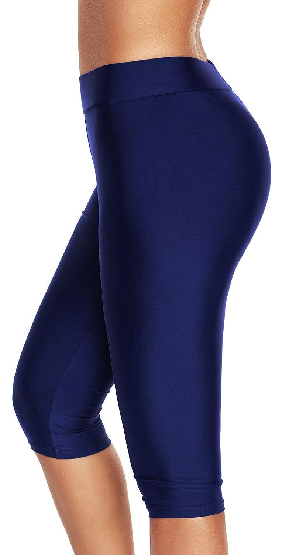 Bettydom Legging de Bain Femme Classique Natation