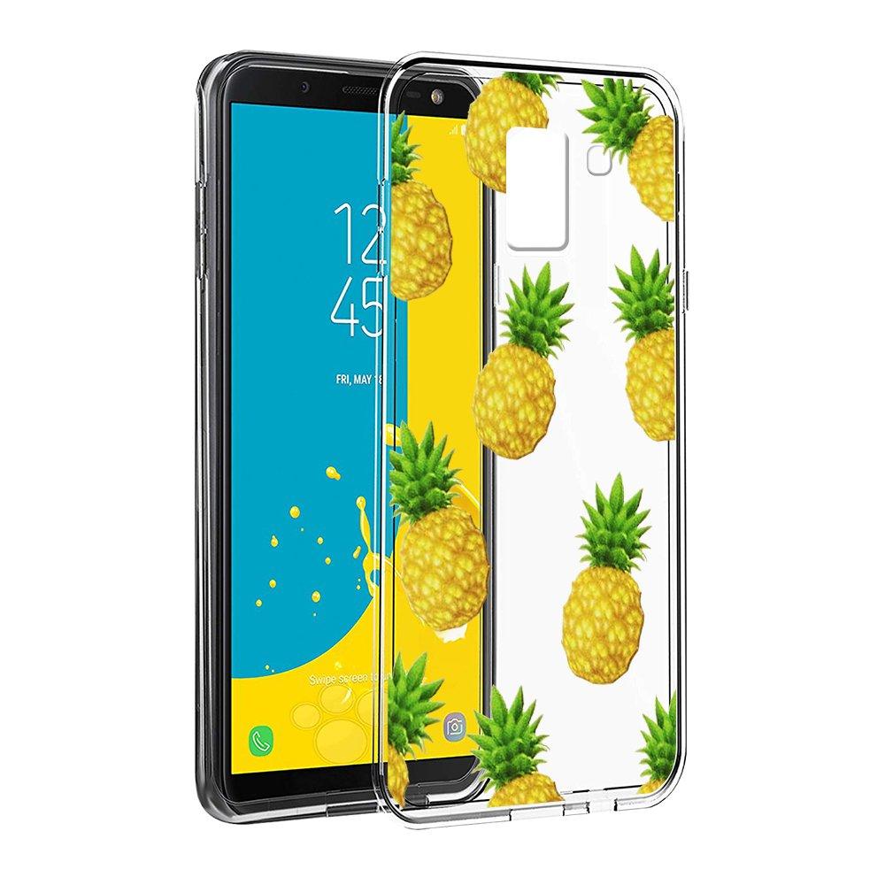 de Protector Case Fundas para Movil Samsung J62018-5,6 Pulgadas Unicornio Antigolpes C/árcasa Silicona 3D Transparente con Dibujos Dise/ño Suave Gel TPU Eouine Funda Samsung Galaxy J6 2018